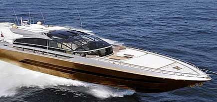 Världens dyraste båt - i guld